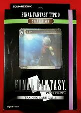 Final Fantasy Type-0 Starter Set: 50 Card Deck, Game Mat, Starter Guide