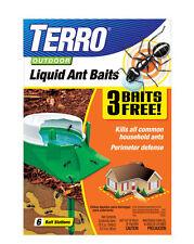 Terro 1806 Outdoor Liquid Ant Baits, 1.0 fl. oz 6 count