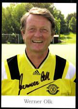 Werner Olk Kashiwa Reysol TOP AK Original Sign+56359 + A 77250