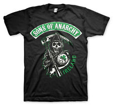 Officially Licensed Sons of Anarchy Ireland BIG & TALL 3XL, 4XL, 5XL Men T-Shirt