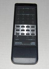 DENON Model RC-218 Black Remote Control Unit
