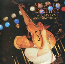 SPEAR OF DESTINY - 7'' All My Love (Ask Nothing) / Last Card (UK,Ten,1985)