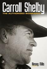 Carroll Shelby: The Authorized Biography book ~AC Ford Cobra~GT40~ Mustang ~NEW