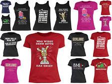 Damen Sportshirt - lustige Sprüche - BMI Fitness - kurfige Frauen - Schweinehund