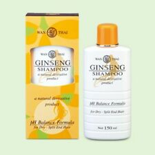 Wanthai Ginseng Shampoo Natural Herbal Prevent Hair Loss For Dry - Split End