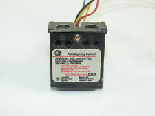 RR9 Relay With Isolated Pilot Coil 21-30Vac Lighting Relay General Electric Used
