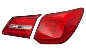 NEW Passenger Right Inner & Outer Genuine Tail Lights Brake Lamps For Acura RLX