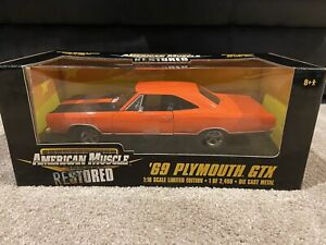 Ertl American Muscle Restored 1:18 69 Plymouth GTX 1969