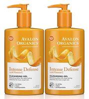 Avalon Organics Intenso DIFESA VITAMINA C rinfrescante Detergente Gel 250ml (