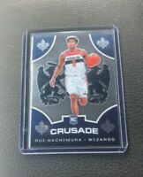 2019-20 PANINI CHRONICLES RUI HACHIMURA CRUSADE ROOKIE #521 WIZARDS