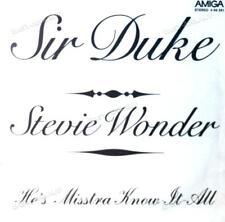 Stevie Wonder - Sir Duke / He's Misstra Know-It-All 7in Amiga 1976 (VG/VG) .