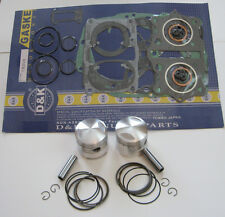 Honda CB350 Piston Kit with Complete Gasket Set