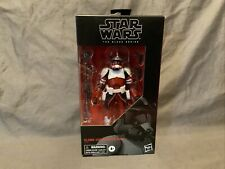 Star Wars Black Series Clone Commander Fox Sealed