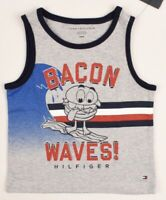 18 24 months Vest Red//Blue TOMMY HILFIGER Baby Boys/' Printed Tank Top