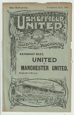 More details for sheffield united res v grimsby res vintage programme 1913/14