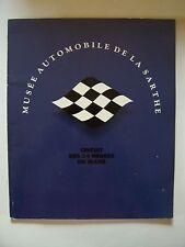 (Plaquette) Musée Automobile de la Sarthe - Circuit des 24 Heures du Mans - 1991