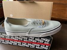 Vans Authentic (Brushed Twill) Granite Green US Size 11.5