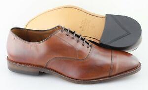 Men's ALLEN EDMONDS 'Park Avenue' Chili Brown Leather Oxfords Size US 11.5 - E