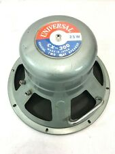 UNIVERSAL CX-300 Coaxial 2 Two Way Speaker 25W JAPAN #6379