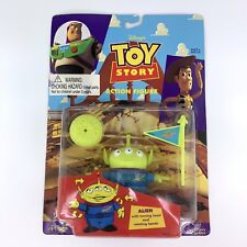 Vintage Disney Pixar Toy Story Alien Action Figure NIP 1995 ThinkWay