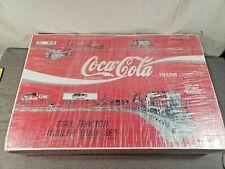 Original Unopened TTAX 1992 Coca Cola Tractor Trailer Train Set -