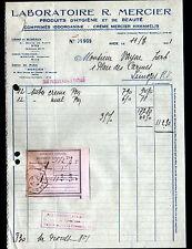"""NICE (06) USINE de PRODUITS d'HYGIENE & BEAUTE """"LABORATOIRE R. MERCIER"""" en 1941"""
