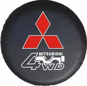 """Spare Tire Cover 15inch For MITSUBISHI MONTERO PAJERO Dust Protector 29"""""""