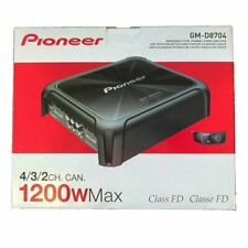 Pioneer GM-D8704 1,200W Class FD 4-Channel Bridgeable Amplifier