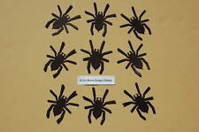 Halloween Spooky Black Spider Cardstock Cuts