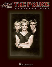 THE POLICE STING - GUITAR BASS DRUM TAB MUSIC SONG BOOK