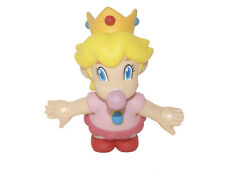 Cute! Super Mario Brothers Baby Princess  Action Figure Plastic Toy 9CM