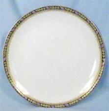 Hutschenreuther Selb Bavaria Luncheon Plate Geranium Leaf Border Porcelain