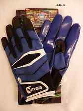 Cutters Gloves Football X40 Revolution Royal Blue Size Medium New