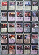 Babylon 5 CCG The Shadows Rare Cards Part 2/4 (Go - Ne)
