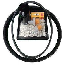 Club Car DS Gas Golf Cart Tune Up Kit (92-04) Oil Filter Drive & Starter Belt