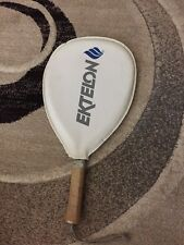 Vintage Ektelon Ceramic Racquetball Racquet - White/Dark Blue - Good Condition