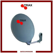 Parabole Fibre SMC Triax DAP 611 Anthracite 56 x 61 cm Gain 36 dB