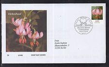 B 5203 ) Bund  2014 FDC -   Blumen: Türkenbundlilie (Lilium mortagon)