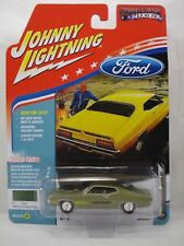 1970 FORD TORINO GT IVE GREEN POLY JOHNNY LIGHTNING MUSCLE CARS USA 1:64 JL