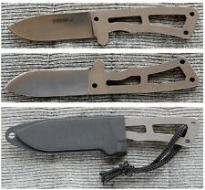 BKR13 Couteau Kabar Becker Remora 1095 Carbon Blade Plastic Sheath Made USA