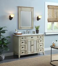 Rustic Style Bathroom Vanity Abbeville with Mirror Cf28325W-Mir