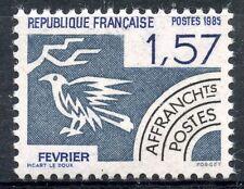 STAMP / TIMBRE FRANCE NEUF PREOBLITERE N° 187 ** LES MOIS DE L'ANNEE / FEVRIER
