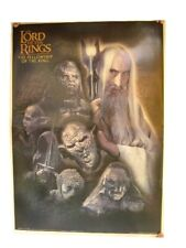 The Lord Of The Rings Poster Orcs Villains Sauruman
