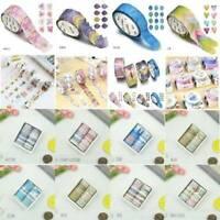 Wholesale Floral DIY Adhesive Washi Tape Scrapbooking Paper Decorative Sticker