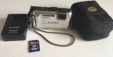 Panasonic LUMIX DMC-TS3 12.1 MP GPS Waterproof/Shockproof Digital Camera Full HD