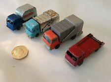 MATCHBOX LESNEY & HUSKY DIECAST REFUSE LORIES & SKIP TRUCK MADE IN GT BRITAIN