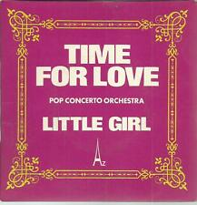 45 RPM 2 Títulos / Pop Concerto Orchestra Time For Love Bo
