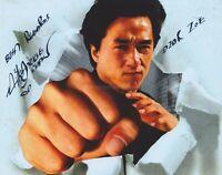 Jackie Chan HAND SIGNED 8x10 Photo Autograph, Rush Hour, Karate Kid