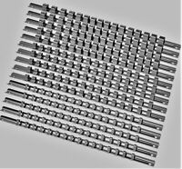 "15pcs Socket Rails 1/4"" 3/8"" 1/2"" 16 Clip On Rail Tool Organizer Storage US SHIP"