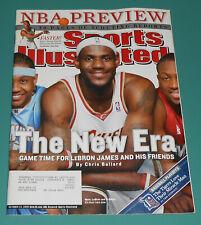 Vintage 2006 LEBRON JAMES Sports Illustrated October NBA Basketball Dwyane Wade